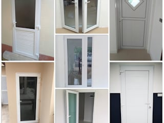 ร้าน ชัยดล ยูพีวีซี พัทยา ประตู - หน้าต่าง upvc 窗戶與門門 塑膠 White