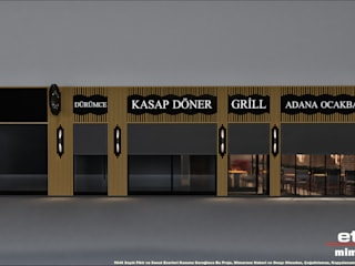 Adana Ocakbaşı Etit Mimarlık Tasarım & Uygulama Modern