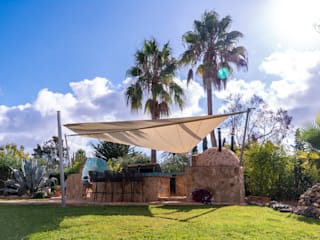 Pina GmbH - Sonnensegel Design Jardin méditerranéen Beige