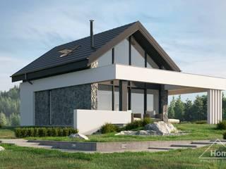 Projekt domu HomeKONCEPT 65 HomeKONCEPT   Projekty Domów Nowoczesnych