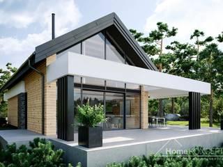 Projekt domu HomeKONCEPT 66 HomeKONCEPT   Projekty Domów Nowoczesnych
