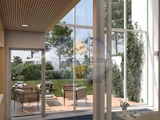 Moradia de Luxo em Vilamoura Jardins modernos por 2Buyproperties.com Moderno