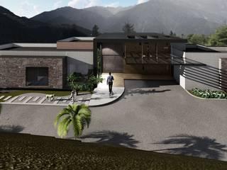 Diseño y construcción casa Casas modernas de GEOARKITECTURA S.A.S. Moderno