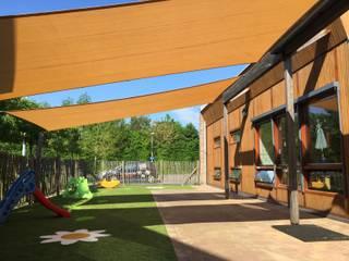 ZONZ sunsails Modern schools Plastic Beige