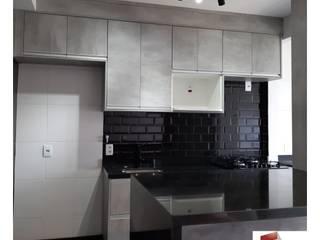 APARTAMENTO |H+C| - REFORMA COMPLETA Cozinhas modernas por Portal Reformas & Construção Moderno