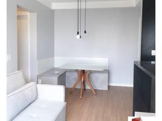 APARTAMENTO |H+C| - REFORMA COMPLETA Salas de estar modernas por Portal Reformas & Construção Moderno
