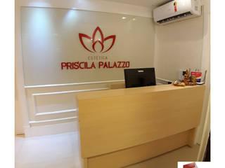 CLÍNICA PRISCILA PALAZZO - MOEMA Escritórios modernos por Portal Reformas & Construção Moderno