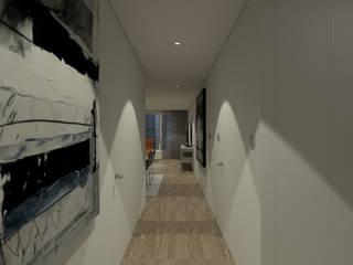 홍파동 경희궁자이 34평인테리어 리모델링 모던스타일 복도, 현관 & 계단 by studio FOAM Architects 모던