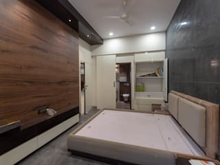 Minimalist bedroom by Shilpy Architects and Consultants Minimalist