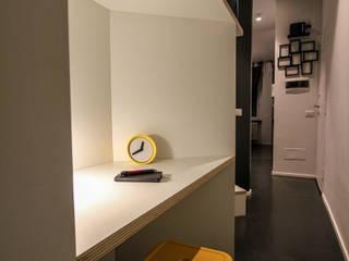 Small & cosy house in Milano di ibedi laboratorio di architettura Moderno