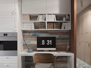 Estudios y despachos de estilo escandinavo de 3D GROUP Escandinavo