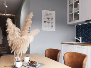 Cocinas de estilo escandinavo de 3D GROUP Escandinavo