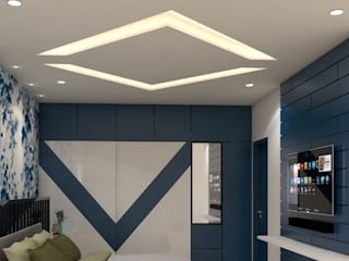 2 BHK by SD Interiors & Modulars Modern