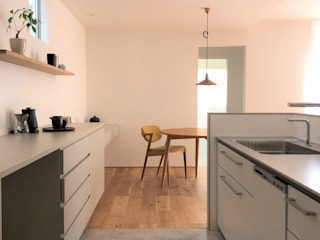 静穏の家 北欧デザインの ダイニング の あかがわ建築設計室 北欧