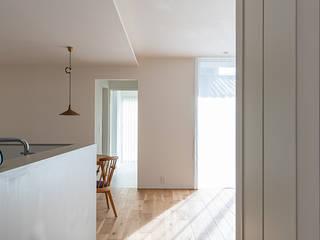静穏の家 北欧スタイルの 壁&床 の あかがわ建築設計室 北欧