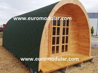 Casa de Madeira Modelo Camp 18 Hotéis campestres por EUROMODULAR Campestre