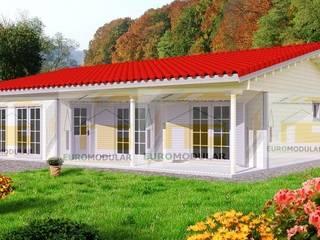 Casa de Madeira T3 Modelo Coimbra por EUROMODULAR Campestre