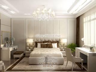 Уютная спальня от Luxury Antonovich Design Спальня в классическом стиле от Luxury Antonovich Design Ukraine Классический