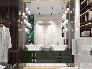 Стильная ванная от Luxury Antonovich Design Ванная в классическом стиле от Luxury Antonovich Design Ukraine Классический