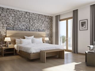 3Dmitri Moderne hotels Steen Beige