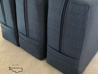 Cojines para comedor. Ballena Diseño Textil CocinaAccesorios y textiles Textil Azul