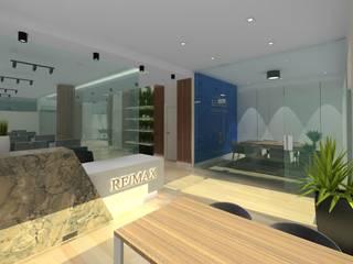 Projecto de Escritórios / Loja Grupo REMAX Solução I Escritórios modernos por Ana Maria Timóteo _ arquitecta Moderno