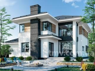 Проект дома со вторым светом TMV 14 от TMV Architecture company
