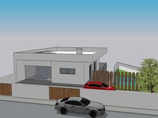 Habitação Casas modernas por 7@ARQ. (arquitectura & construção) Moderno