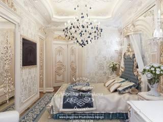 Dormitorios clásicos de Дизайн-студия элитных интерьеров Анжелики Прудниковой Clásico