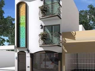 by GALICIA AV Arquitectura más Virtual Eclectic