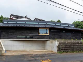 Mー邸 オリジナルな 家 の 田村淳建築設計事務所 オリジナル