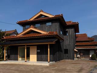 H-邸 オリジナルな 家 の 田村淳建築設計事務所 オリジナル