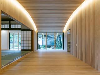 H-邸 オリジナルデザインの リビング の 田村淳建築設計事務所 オリジナル