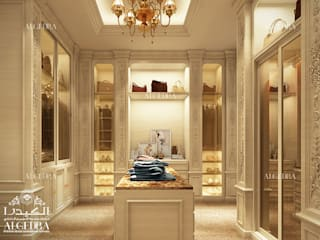 Modern dressing room by Algedra Interior Design Modern