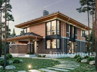 Проект дома в стиле Райта TMV 23A от TMV Architecture company