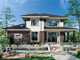Проект двухэтажного особняка TMV 77 от TMV Architecture company