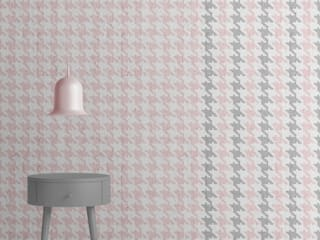Play With Colour : The new wallpaper collection by Emanuele Pangrazi for Mineheart van Mineheart Eclectisch