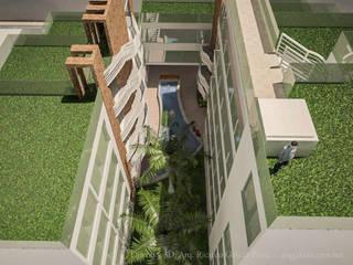 Modern Garden by GALICIA AV Arquitectura más Virtual Modern