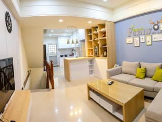 住宅空間-高雄-鳳頂路 根據 雄邑室內設計裝修 北歐風
