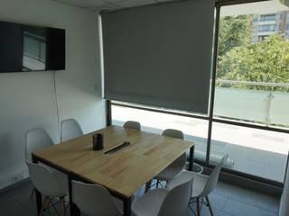 Launch Coworking sede Talca de Ramirez + Fierro Arquitectos Industrial
