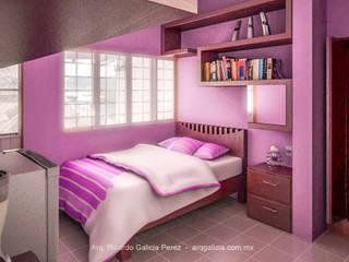 Modern Bedroom by GALICIA AV Arquitectura más Virtual Modern