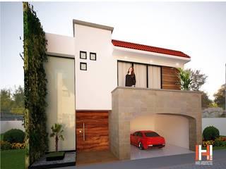 HHRG ARQUITECTOS Terrace house