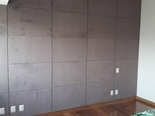 Muro Revestido tipo Gajo de ACY Diseños & Muebles Moderno