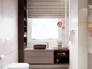 Коттедж-Сезоны Ванная комната в стиле минимализм от Family Cozy Минимализм