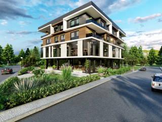 現代房屋設計點子、靈感 & 圖片 根據 ANTE MİMARLIK 現代風