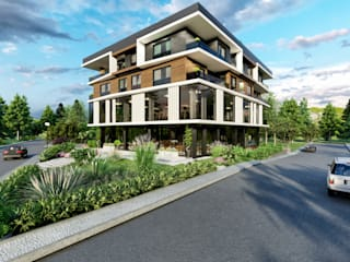 Moderne huizen van ANTE MİMARLIK Modern