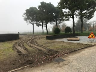 Modern Bahçe LUCIA PANZETTA - PAESAGGISTA Modern