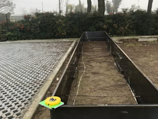 Jardines de estilo moderno de LUCIA PANZETTA - PAESAGGISTA Moderno