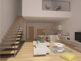Modern Living Room by EFLA Mimarlık Modern