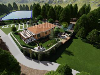 RB Mountain House Notilus Peyzaj Tasarım ve Uygulama Kırsal/Country